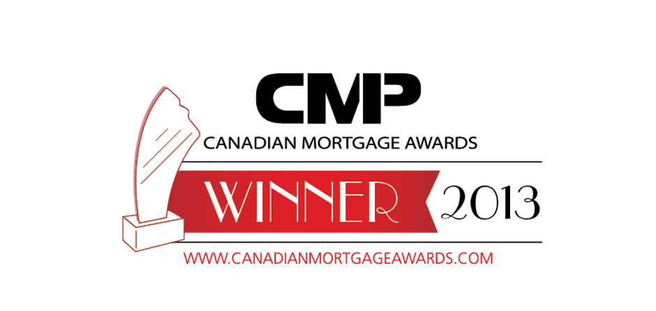 Canadian Mortgage Awards Winner for 2013