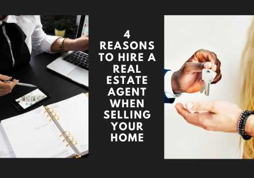 4 Reasons to Hire a Real Estate Agent When Selling Your Home in Red Deer and Fort McMurray, Alberta